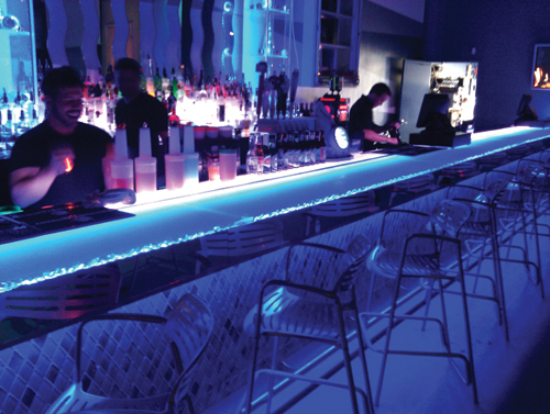 Bon Ice Bar Clear Form Bar Top